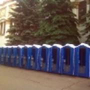 Аренда и обслуживание био-туалетов Киев фото