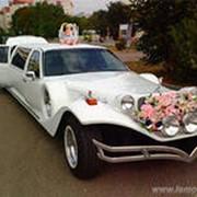 Прокат автомобилей и лимузинов на любой вкус на свадьбу и другие торжества фото