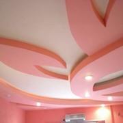 Дизайн потолков из гипсокартона фото