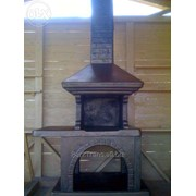 Барбекю бетонная фото