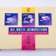 Бумага самоклейка, матовая\глянцевая A4 stick фото