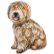 Скульптура Собака Чарли 19х25х15см. арт.AHURA-162 фото