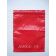 Пакет с замком zip-lock 15х20x40 мкм фото