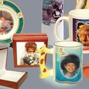 Нанесение изображения на сувенирную продукцию фото