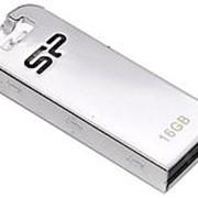 Флэш-карта 16GB SILICON POWER T03 МЕТАЛЛ СЕРЕБРО USB 2.0 фото