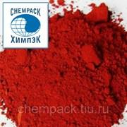 Пигмент красный железоокисный H 130, окись железа, оксид железа. Мешок фото