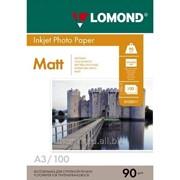 Матовая бумага Lomond А-3 фото