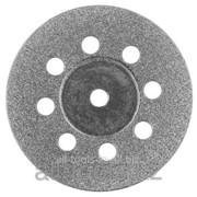 Круг Зубр алмазный, d 22х2,0 мм, 1шт Код: 35927 фото