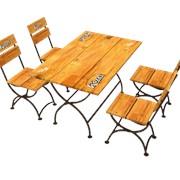 Комплект(стол,стул) Rarity фото