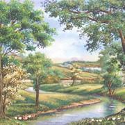 Картины из натурального камня фото