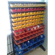 Стеллажи торговые с ящиками для метизов в магазин фото