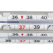 Термометры медицинские максимальные стеклянные Киев фото