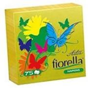 Салфетки Aster Fiorella 24*24 75шт желтые фото