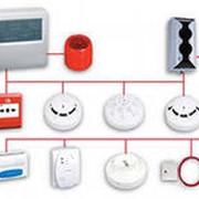 Монтаж охрано-пожарной сигнализации, систем доступа, видеонаблюдения фото