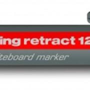 Маркер для белых досок с кнопочным механизмом, круглый наконечник, 1,5-3 мм Красный фото