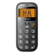 TM-B111 Texet сотовый телефон бабушкофон, Чёрный фото