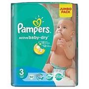 Подгузники Pampers activebaby-dry 3 (5-9кг), 82шт фото