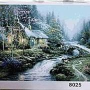 Картина по номерам 40х50 арт 8025 фото