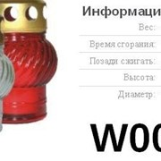 Свічка-Лампадка W001 фото