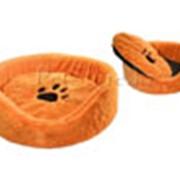 Лежак круглый Zoo-M Lisa 60*60*18 см фото