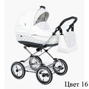 Детская классическая коляска 2 в 1 Roan Emma 16 - Роан Эмма 16 (1101-0120) фото