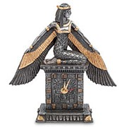 Часы настольные Исида - Богиня материнства и плодородия 23х24х7см. арт.WS-487 Veronese фото