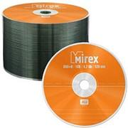 Оптический диск DVD плюс R 4.7 Гб Mirex в обтяжке 50 шт. фото