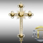 Кресты с плазменно-вакуумным напылением фото