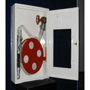 Шкаф встроенный с барабаном для рукава HW-52W. фото