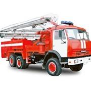 Пожарный пеноподъемник ППП-32 (585232) (шасси КАМАЗ-53228 6х6) фото