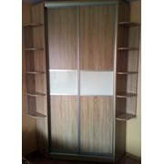 Угловой шкаф с раздвижными дверями ГТН-01 фото