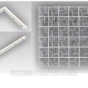 Система составных приточно-вытяжных пластиковых решеток фото