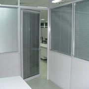 Системы офисных перегородок фото