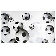 Скатерть полиэтиленовая Футбол 140см X 180см фото