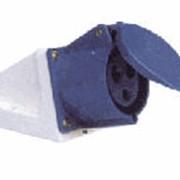 Вилки и розетки. Розетка переносная ГП 16А/3 2Р+Е (213) АСКО. фото