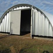 Строительство и реанимация зерноочистительных сооружений, бескаркасных ангаров фото