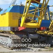 Аренда гусеничных кранов МКГ 25БР по Киеву и др. фото