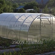 Теплица «Радость дачника» 8м с Сотовым поликарбонатом 4мм фото