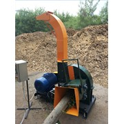 Рубильная машина МРЭГ30 электрическая с гидроподачей производительностью на выходе до 12м3 фото