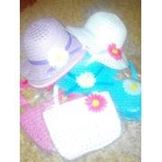 Соломенный набор -сумочка и шляпка фото