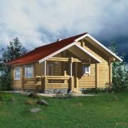 Строительство, проектирование деревянных домов, котеджей, бань из цилиндрованного бруса. фото