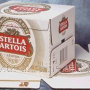 Упаковка торговая для напитков фото
