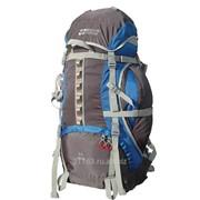 Рюкзак альфа 65 v2 серый/синий код товара: 00038777 фото
