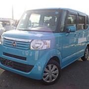Микровэн HONDA N BOX PLUS кузов JF1 минивэн для пассажира инвалида колясочника 2014 пробег 89т.км светло-синий фото