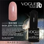 Vogue Nails, Shine база для гель-лака Base 3 10мл фото
