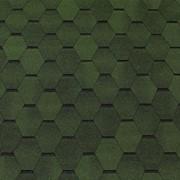 Битумная черепица Tegola TOP Shingle Smalto Зеленый фото