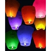 Небесный фонарик 1 шт разные цвета фото