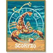 Картина по номерам Знак Зодиака Скорпион фото