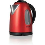 Чайник Philips HD-4665/40 красный с черным фото