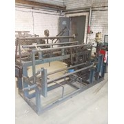 Станок автоматический для плетения сетки рабицы СБ-1408 фото